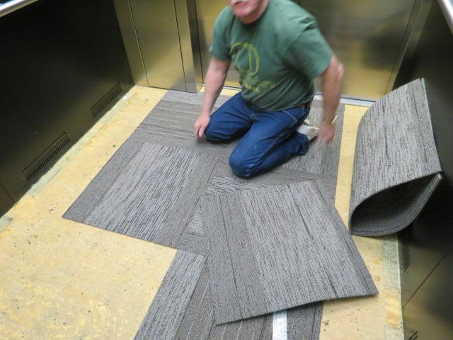 Giving an elevator a lift steven w johnson construction for Elevator flooring options
