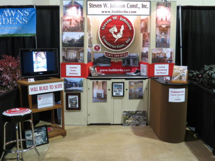 Custom Homebuilding Show Display Booth