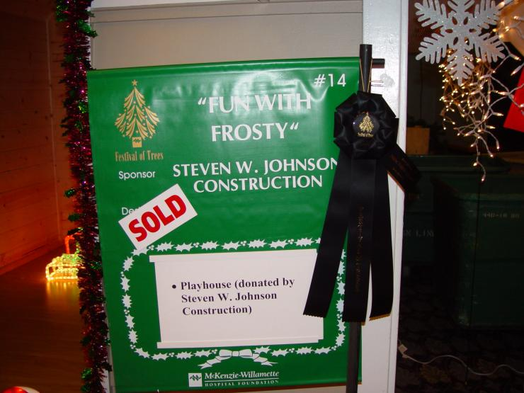 Director's Choice Award Festival of Trees