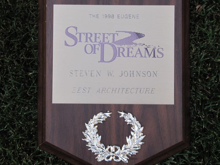 Street of Dreams Award
