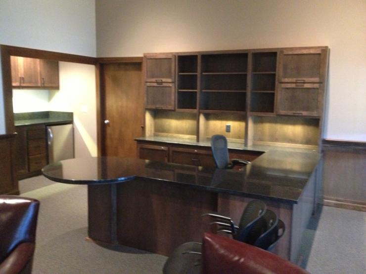 Hutch Style Desk
