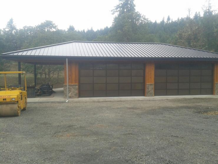 Custom Garage and Shop