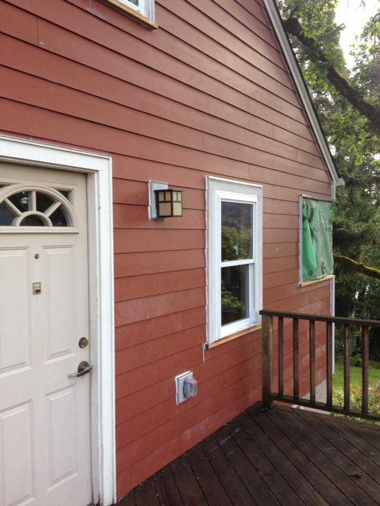 This home needed some new siding!