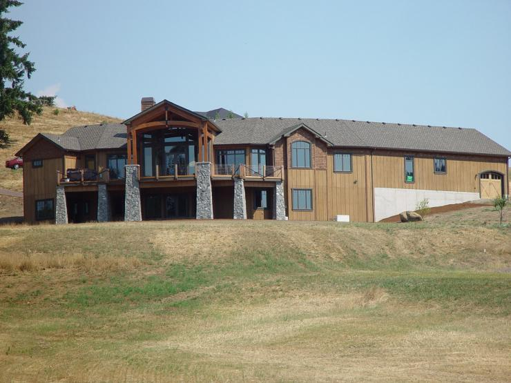 Custom Build home on 31 Acre parcel.