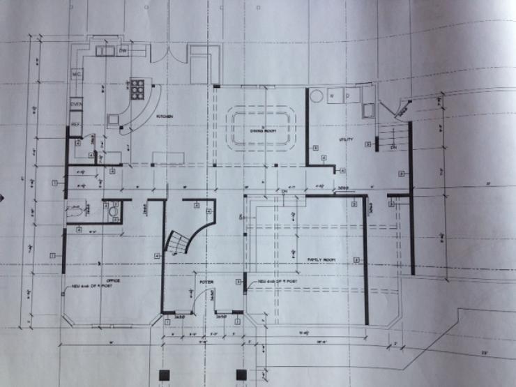 Remodel plan