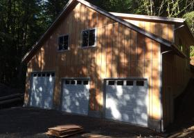 Framing and siding complete