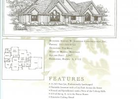 Eugene Oregon Tour of Homes Floor Plan